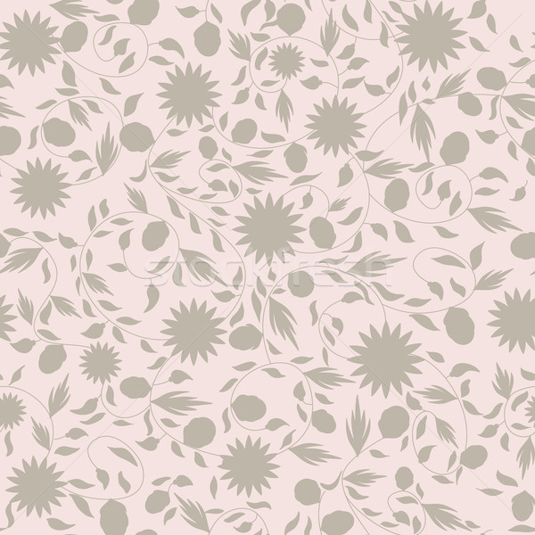 ヒマワリ 花 シームレス シルエット 花 自然 ストックフォト © LittleCuckoo