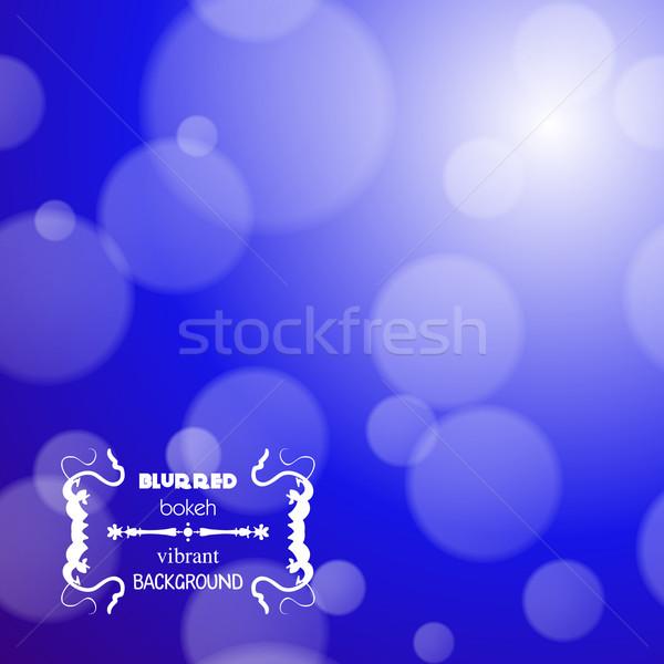 Abstract Blur bokeh luminoso colore party Foto d'archivio © LittleCuckoo