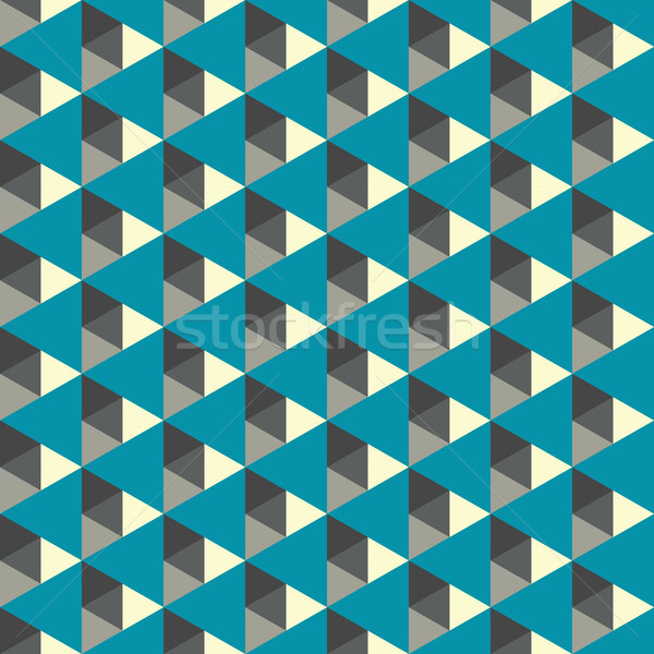 Abstract geometric background colorful spectrum Stock photo © LittleCuckoo