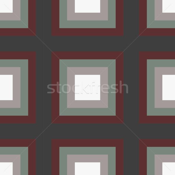 геометрия квадратный вектора линия бумаги Сток-фото © LittleCuckoo
