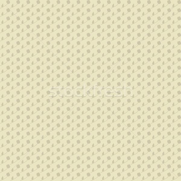 Sin costura ornamento floral beige neutral forestales Foto stock © LittleCuckoo