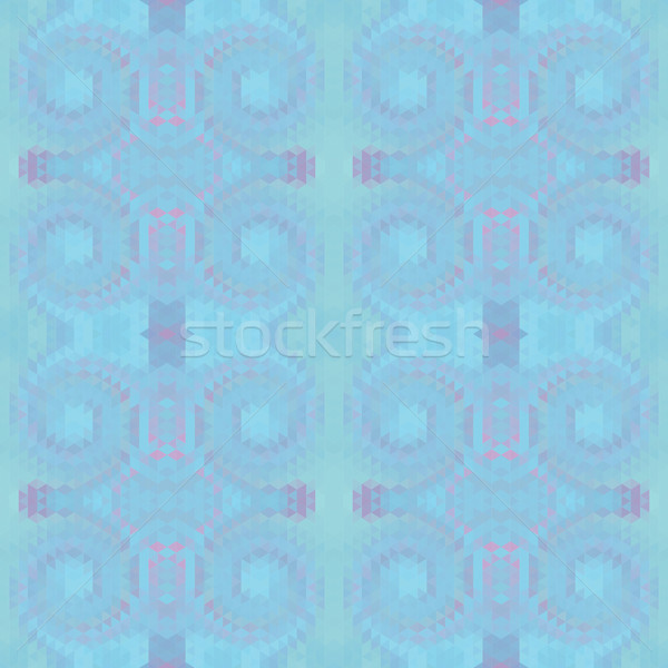 Illusie draaikolk abstract Blauw kleur meetkundig Stockfoto © LittleCuckoo