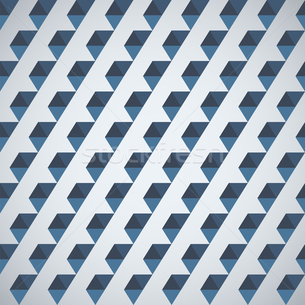 Retro pattern of geometric shapes half hexagon Stock photo © LittleCuckoo
