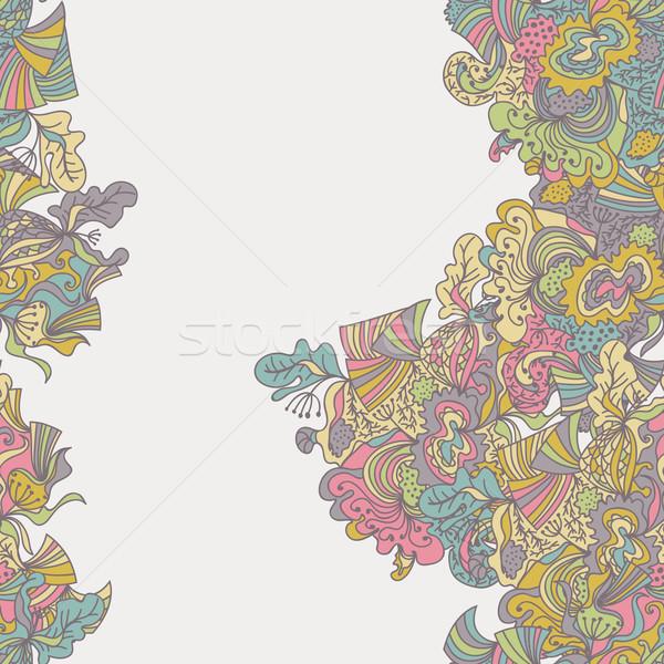 Abstract senza soluzione di continuità confine pattern superficie texture Foto d'archivio © LittleCuckoo