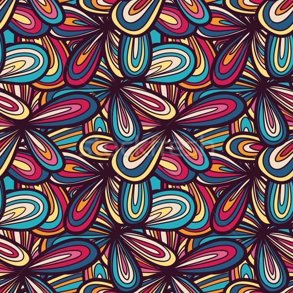 シームレス 抽象的な テクスチャ 明るい パステル 色 ストックフォト © LittleCuckoo