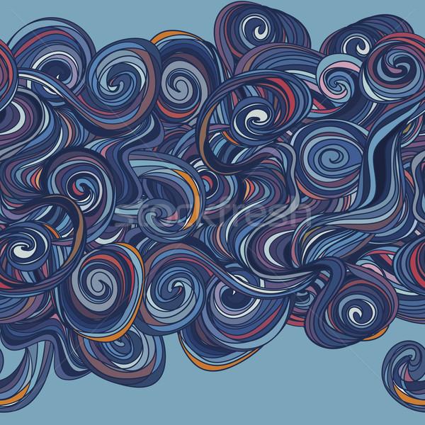 抽象的な 中古 水 テクスチャ 海 ストックフォト © LittleCuckoo