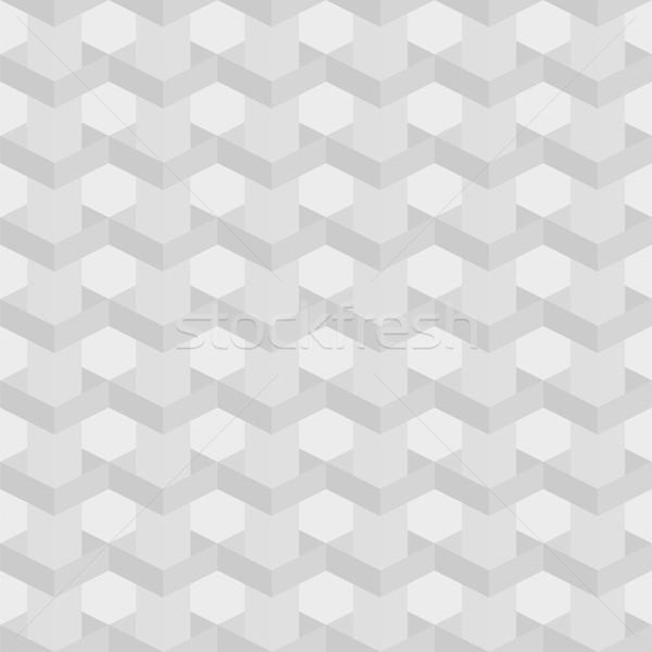 Bezszwowy tekstury szary biały złudzenie optyczne Zdjęcia stock © LittleCuckoo