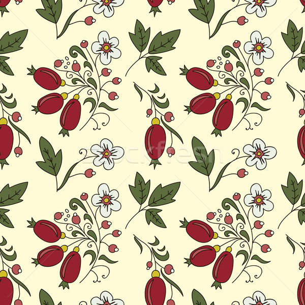 seamless texture barberry Stock photo © LittleCuckoo