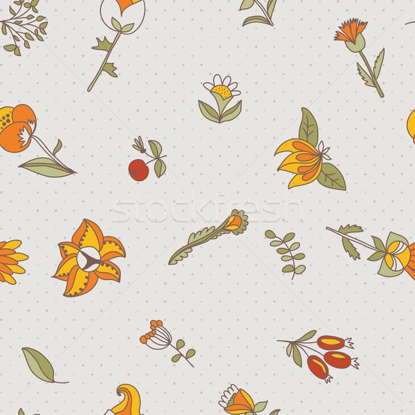 цветок бесшовный текстуры бесконечный цветочный шаблон Сток-фото © LittleCuckoo