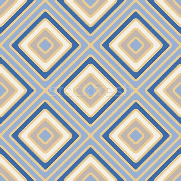 Mértan vektor végtelen minta vonalak papír divat Stock fotó © LittleCuckoo