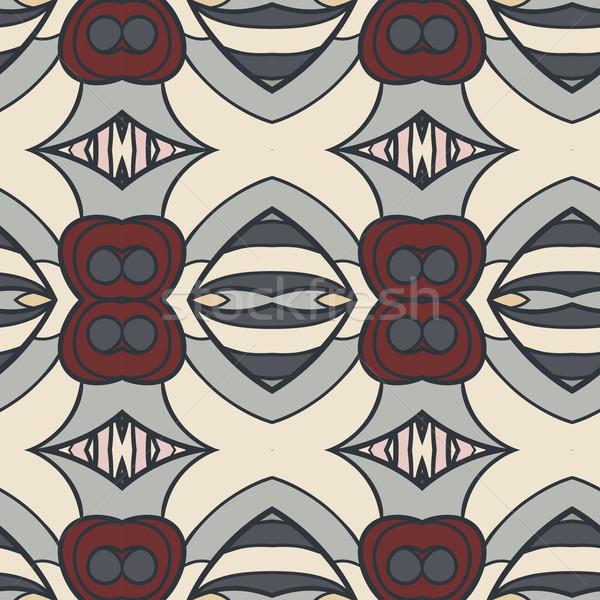 Stock foto: Abstrakten · Ornament · Muster · Kaleidoskop · Wirkung