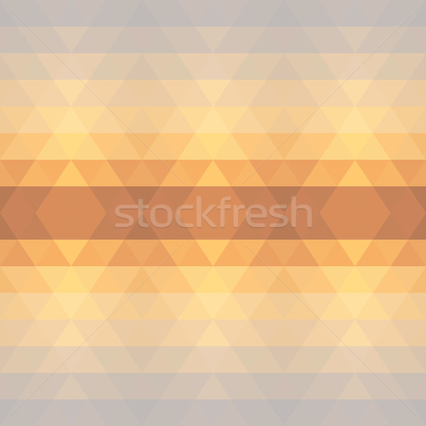 Abstract geometric triangle seamless pattern Stock photo © LittleCuckoo