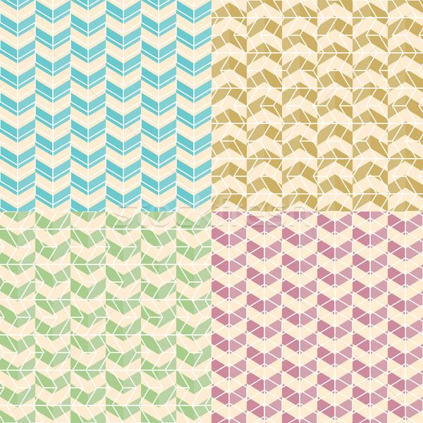 geometric pattern Stock photo © LittleCuckoo