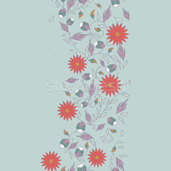 Girasole fiore senza soluzione di continuità texture natura foglia Foto d'archivio © LittleCuckoo
