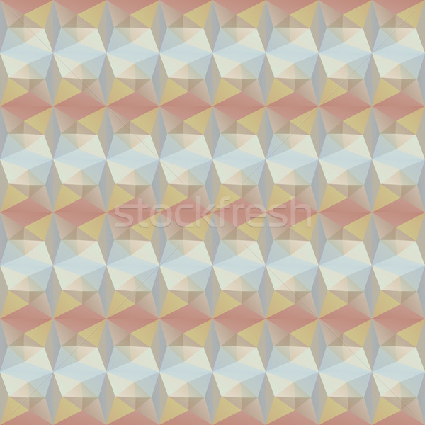 pattern geometric shapes. Background with squares Stock photo © LittleCuckoo