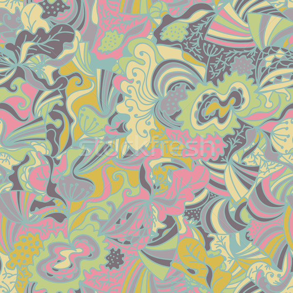 Abstract seamless hand-drawn pattern. Stock photo © LittleCuckoo