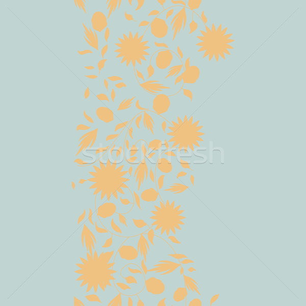 Tournesol fleur silhouette fleurs nature Photo stock © LittleCuckoo
