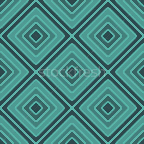 geometry rhombus vector seamless pattern Stock photo © LittleCuckoo