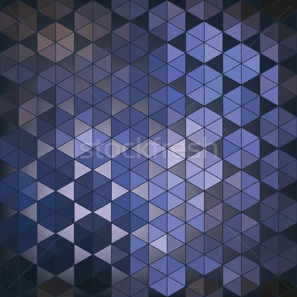 Geometric hexagon abstract background Stock photo © LittleCuckoo