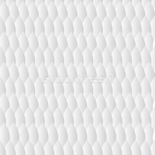 Biały geometryczny wzór trójkąt świetle tle komputera Zdjęcia stock © LittleCuckoo