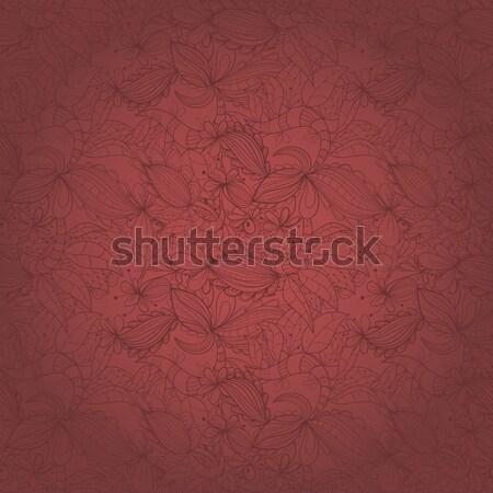 Seamless abstract hand-drawn texture Stock photo © LittleCuckoo
