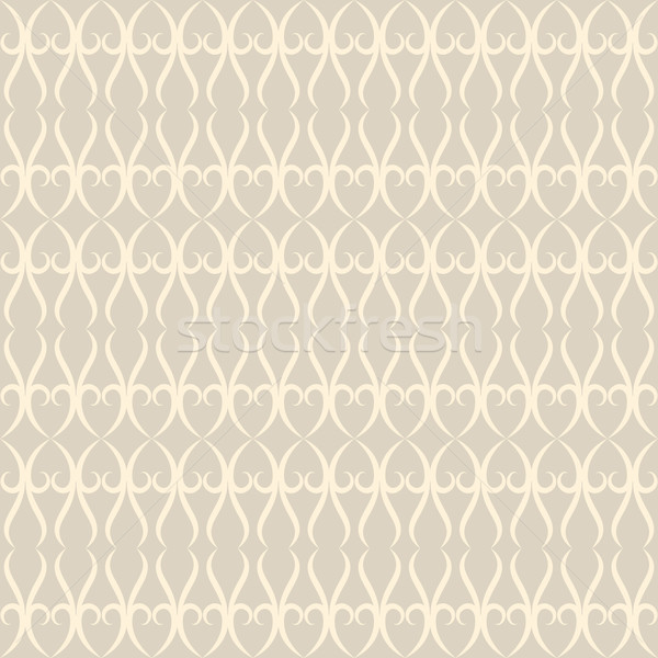 Neutral floral ornament. beige color Stock photo © LittleCuckoo