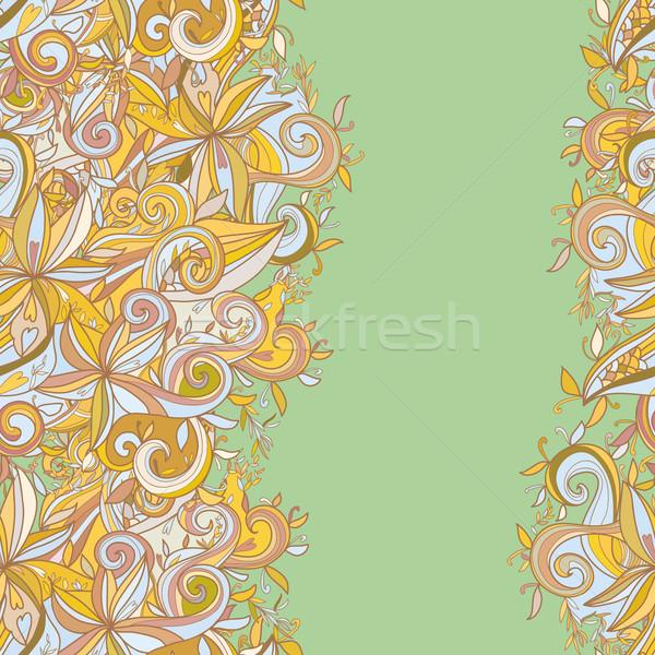 Absztrakt végtelen minta használt terv haj óceán Stock fotó © LittleCuckoo
