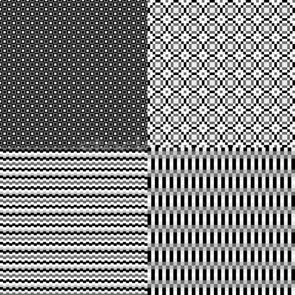 Пиксели монохромный аннотация нейтральный бесшовный небольшой Сток-фото © LittleCuckoo