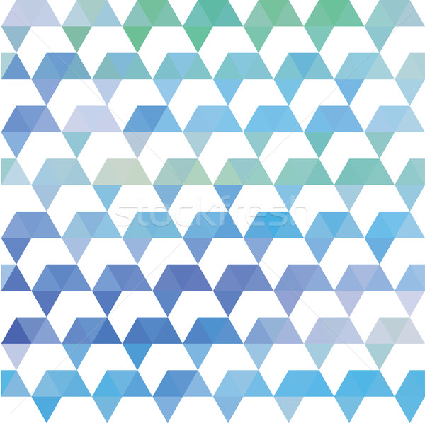 Pattern of geometric shapes. Colorful mosaic backdrop. Geometric retro background Stock photo © LittleCuckoo
