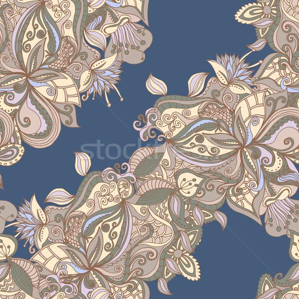 Abstract patroon naadloos doodle textuur Stockfoto © LittleCuckoo