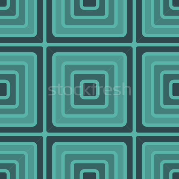 geometry square vector seamless pattern Stock photo © LittleCuckoo