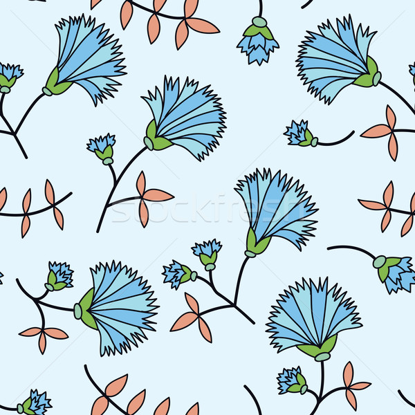 cornflower seamless Stock photo © LittleCuckoo