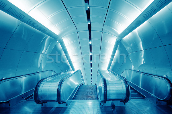 Internationale luchthaven kantoor gebouw stad abstract Stockfoto © liufuyu