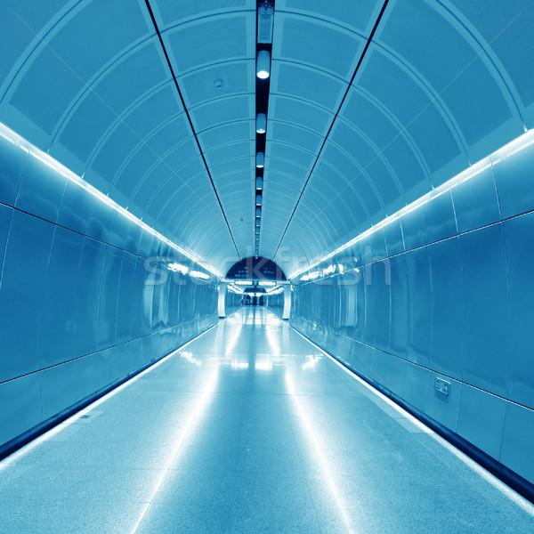 Metro kentsel hüzün iş hayat ok Stok fotoğraf © liufuyu