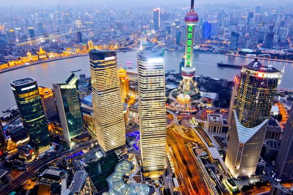 shanghai Stock photo © liufuyu