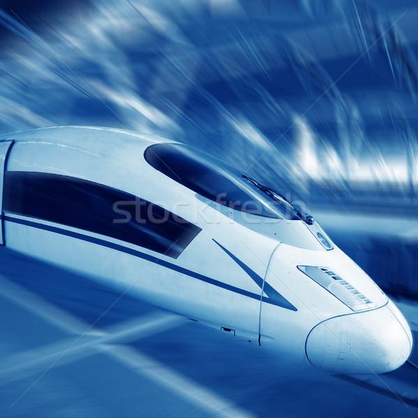 Trein moderne abstract technologie Stockfoto © liufuyu