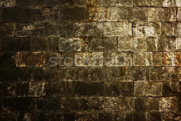 Oude muur Jeruzalem steen gebouw natuur Stockfoto © liufuyu