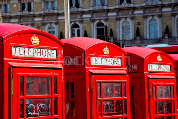 Telefon Anglia London idejétmúlt doboz klasszikus Stock fotó © lkpro