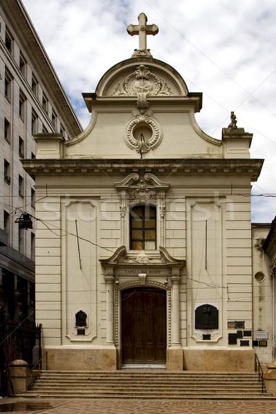 центр Буэнос-Айрес небе облаке крест Top Сток-фото © lkpro