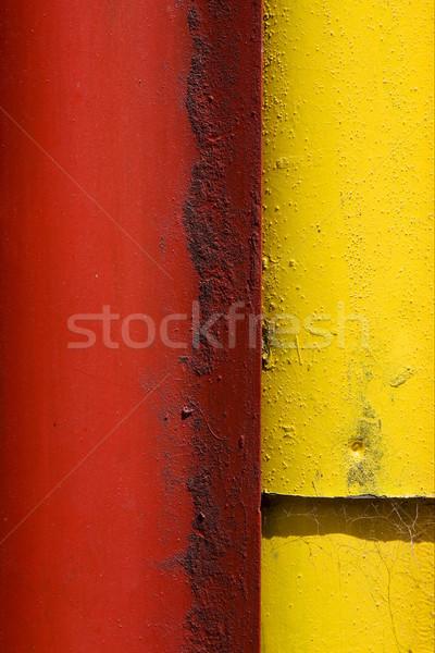 Színes LA Buenos Aires vasaló fém lap Stock fotó © lkpro