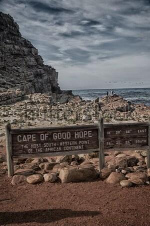 Tuz göl çöl Tunus su doğa Stok fotoğraf © lkpro