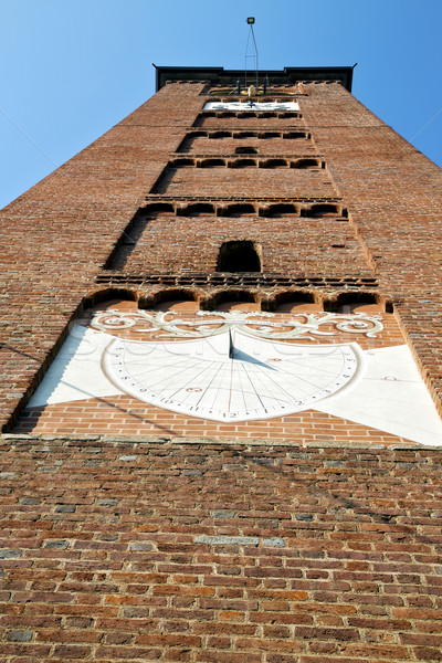 arsizio old   and church tower bell sunny day  Stock photo © lkpro