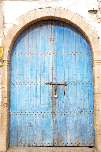 歴史的 アンティーク 金属 さびた 建物 ドア ストックフォト © lkpro