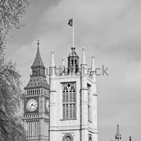 Londen Big Ben historisch oude bouw Engeland Stockfoto © lkpro