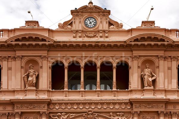 Буэнос-Айрес розовый мрамор женщины центр Аргентина Сток-фото © lkpro