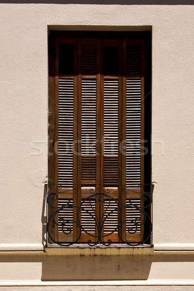 old window grate and terrace Stock photo © lkpro