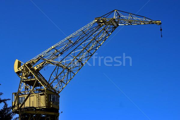 sky  and crane Stock photo © lkpro