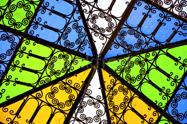 colorated glass and sun  Stock photo © lkpro