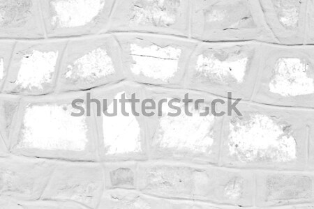 abstract cross white marble  in the temple bangkok Stock photo © lkpro