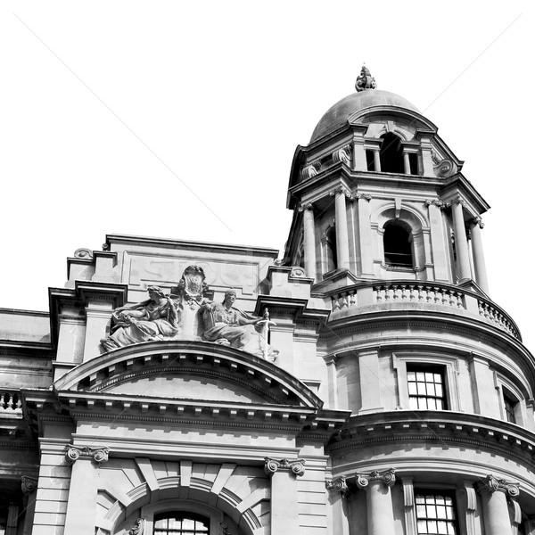 Engeland Londen Europa muur geschiedenis Stockfoto © lkpro